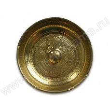 Чаша цвет золото ЧМ-3, 20 см.