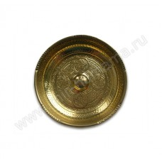 Чаша цвет золото ЧМ-8, 16 см, 0,5 л.