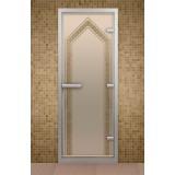 "Дверь для хамама 690*1890 мм ""Чайхана"", стекло бронзовое"