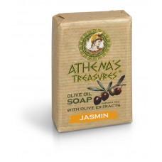 Натуральное оливковое мыло Жасмин, 100 г