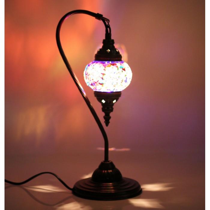 Современные мозаичные светильники фонари настольные